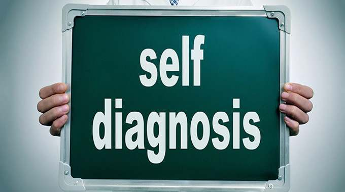 self-diagnosis